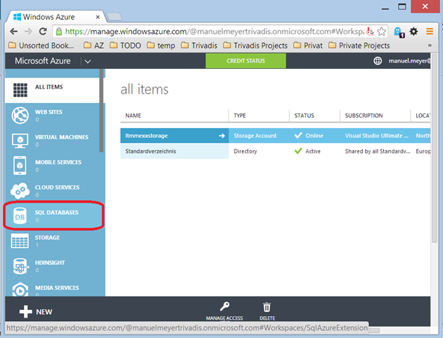 How to Set up the Adventureworks Sample Data on Microsoft Azure ...