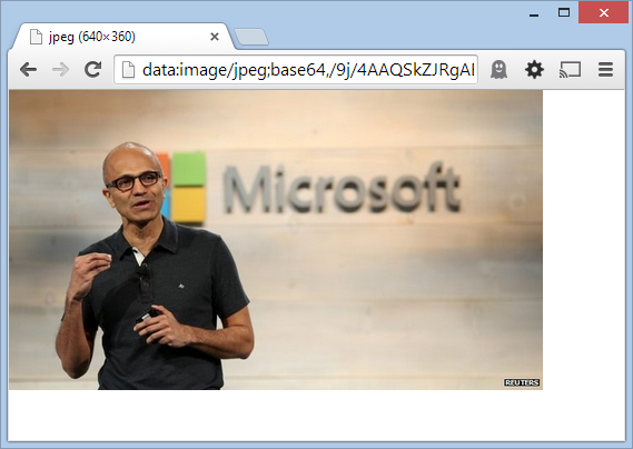 ToolTip: Decoding Base64 Images with Chrome Data URL